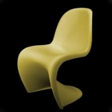 2 x panton s chair dinner chair by verner panton for vitra 1960s