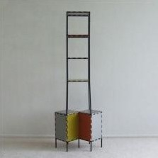 Abstracta Cabinet from the seventies by Poul Cadovius for Royal System