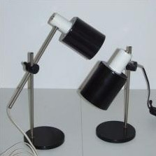 Desk Lamp from the sixties by H. Busquet for Hala Zeist