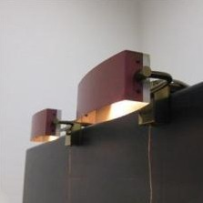 Wall Lamp by Jacques Biny for Lita France