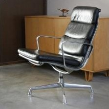 eames soft pad lounge chair. EA 216 Soft Pad Lounge Chair By Charles \u0026 Ray Eames For Vitra, 1960s I