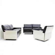 set of 3 model 620 seating groups by dieter rams for vitsoe 1960s