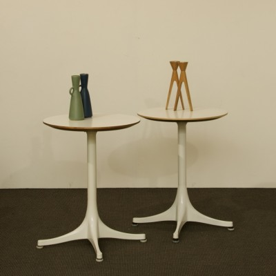 Pair Of Model 5451 Side Tables By George Nelson For Vitra, 1950s