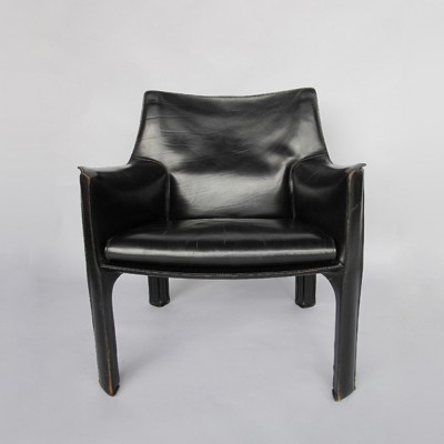 CAB 414 Lounge Chair from the seventies by Mario Bellini for – Mario Bellini Chair