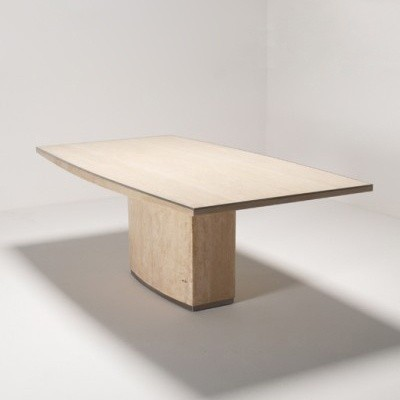 Dining table by willy rizzo for unknown manufacturer 0337 for Table willy rizzo