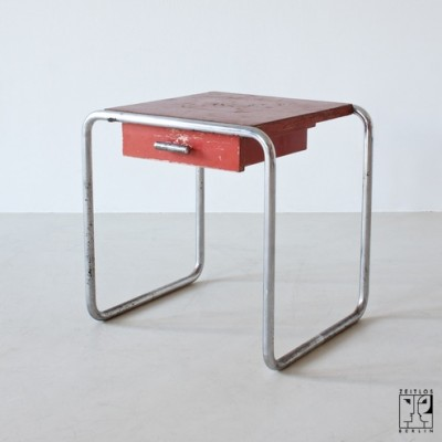 B 9c Side Table by Marcel Breuer for Thonet Mundus