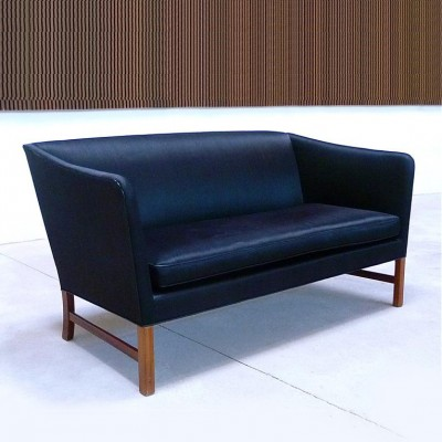 Sofa by Ole Wanscher for AJ Iversen, 1960s
