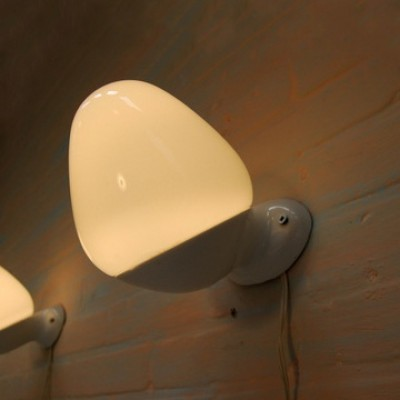 Set Of 3 Wv 343 Wall Lamps By Wilhelm Wagenfeld For Lindner Leuchten