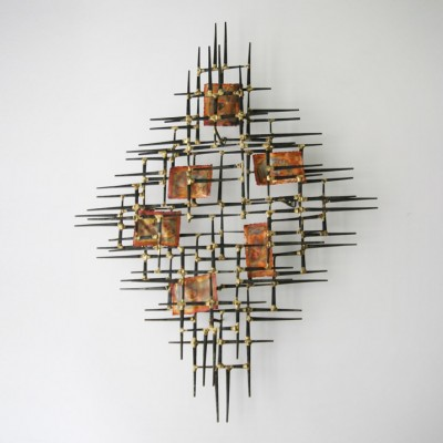 Brutalist Wall Object, 1960s | #7099