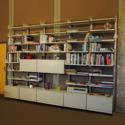 606 universal shelving system wall unit by dieter rams for