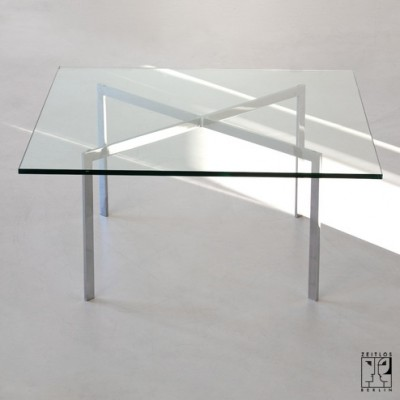 Coffee Table By Ludwig Mies Van Der Rohe For Knoll International 7319