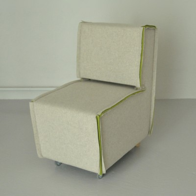 Lounge Chair by Evelyne Merkx for Unknown Manufacturer