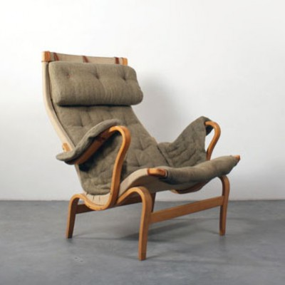 Genial Pernilla Lounge Chair By Bruno Mathsson For Dux, 1940s