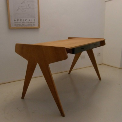 Mens Writing Desk by Helmut Magg for WK Möbel