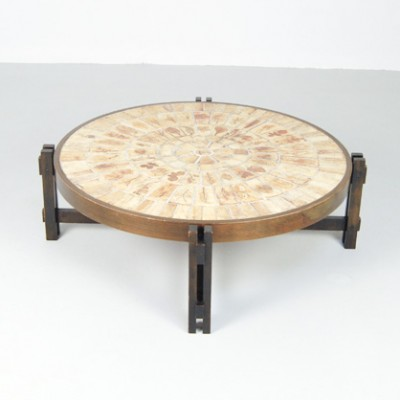 Coffee table by roger capron for vallauris 8464 - Point p vallauris ...
