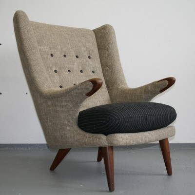 Papa Bear lounge chair by Svend Skipper for Skippers Møbler, 1950s ...