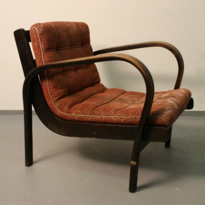 Lounge Chair by A. Kropacek and K. Kozelka for Interier Praha