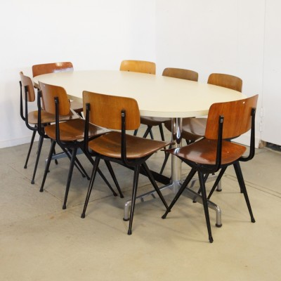 Eames Segment Base Dining Table By, Herman Miller Dining Room Set