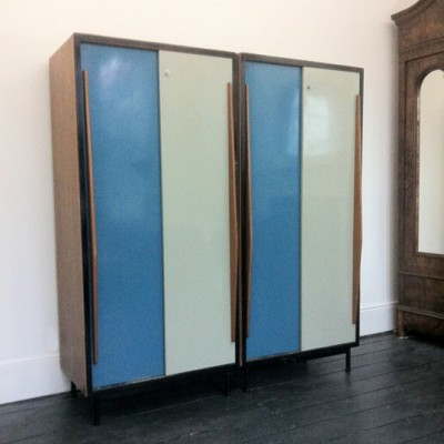 2 x cabinet by Willy van der Meeren for Tubax 1950s & 2 x cabinet by Willy van der Meeren for Tubax 1950s | #9118