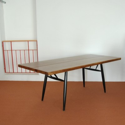 Dining Table by Ilmari Tapiovaara for Laukaan Puu Finnland