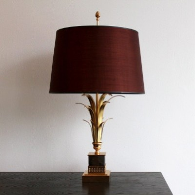 Palm Tree Desk Lamp By Maison Charles 1950s