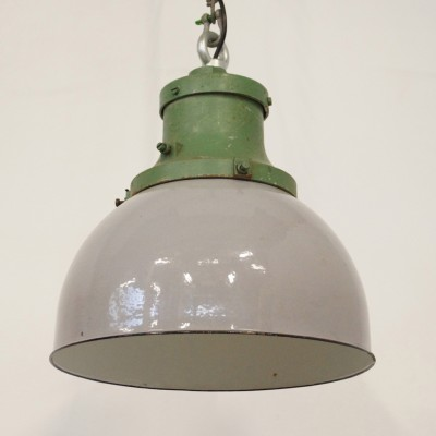 Charming Industria Rotterdam Hanging Lamp, 1950s