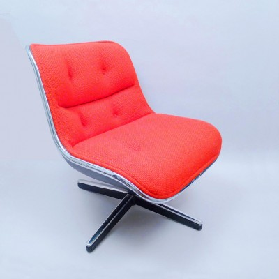 Executive Lounge Chair By Charles Pollock For Knoll International, 1960s