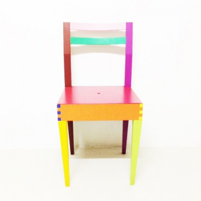 Massimo Morozzi Design.Dry Dining Chair By Massimo Morozzi For Giorgetti 1980s