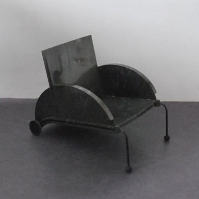 Poltrona 4814 lounge chair by Anna Castelli Ferrieri for Kartell, 1980s