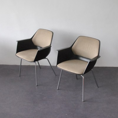 2 x dining chair by Georg Leowald for Wilkhahn, 1960s