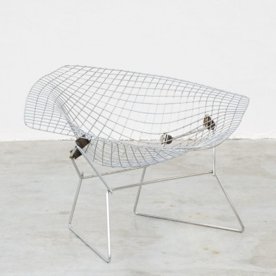 Large Diamond Lounge Chair by Harry Bertoia for Knoll International