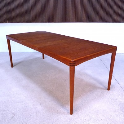 dining table by henry w klein for bramin 1960s 12753