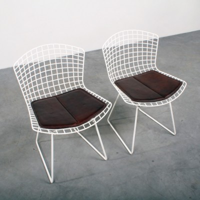 Side Chair Dinner Chair by Harry Bertoia for Knoll International
