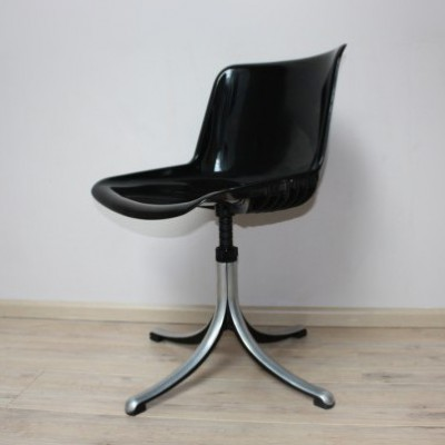 Office Chair from the seventies by Osvaldo Borsani for Tecno