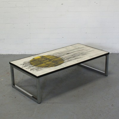 Coffee Table By J Belarti For Unknown Manufacturer 13424