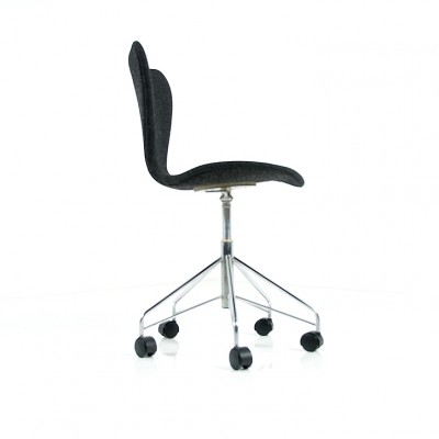 7 series Swivel Office Chair from the sixties by Arne Jacobsen for
