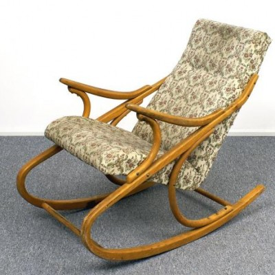 Rocking Chair by Unknown Designer for Ton S. P. Bystřice pod Hostýnem