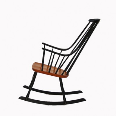 Rocking Chair by Ilmari Tapiovaara for Pastoe