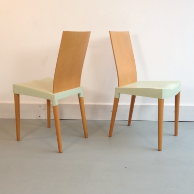 8 x Miss Trip dinner chair by Philippe Starck for Kartell 1990s