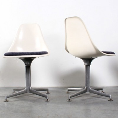 Amazing Set Of 4 Dinner Chairs By Maurice Burke For Arkana, 1960s