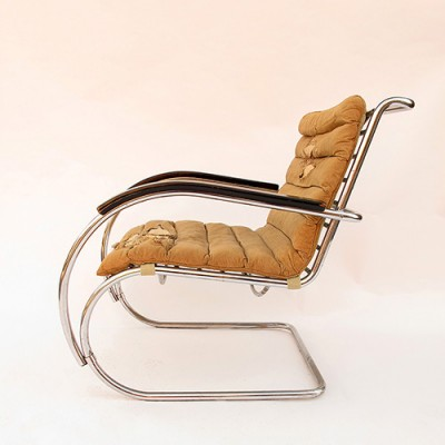 Prime Mr40 Lounge Chair By Ludwig Mies Van Der Rohe For Bigla Squirreltailoven Fun Painted Chair Ideas Images Squirreltailovenorg