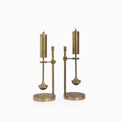 Candlesticks from the fifties by Ilse Ammonsen for Daproma Design