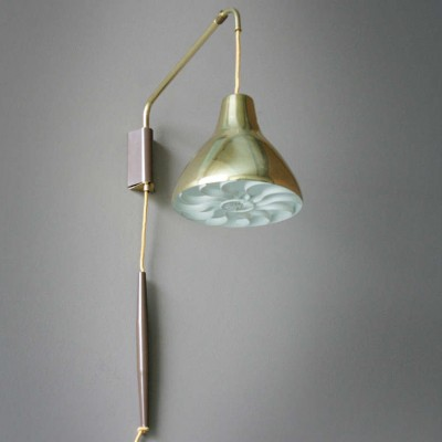 Wall lamp by Gerald Thurston for Lightolier, 1950s