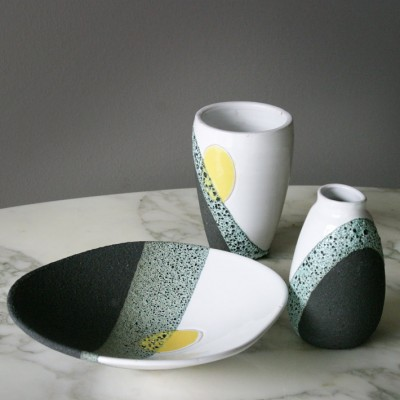 Set of Ceramics by Ettore Sottsass for Bitossi