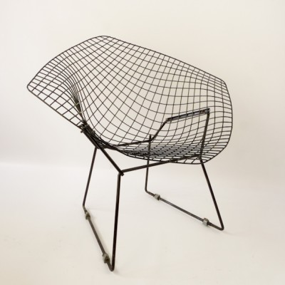 421 Diamond Lounge Chair by Harry Bertoia for Knoll