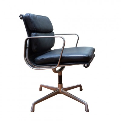 Ea 208 Soft Pad Office Chair By Charles Ray Eames For Vitra 1960s