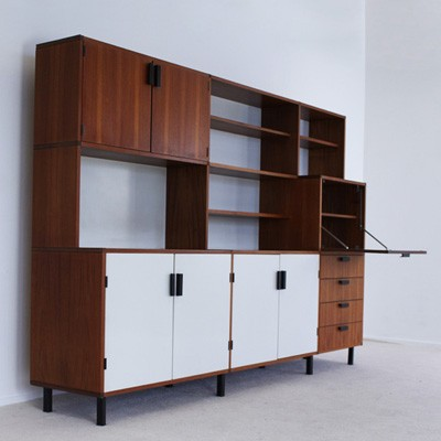 Made to Measure Series wall unit by Cees Braakman for Pastoe, 1960s ...