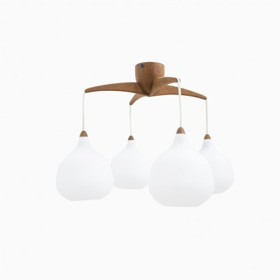 Ceiling Lamp by Uno Kristiansson for Luxus Vittsjö