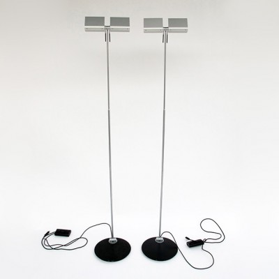 2 X Floor Lamp By Axel Meise For Occhio 1980s 16217