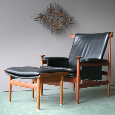 Bwana Lounge Chair by Finn Juhl for France and Son